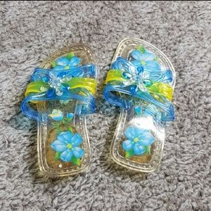 princess jelly sandals